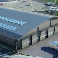 Aerohub Newquay hangar cropped