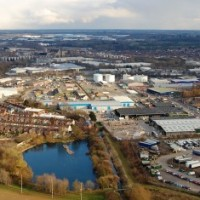 Aerial View of Northampton