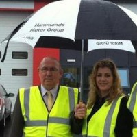 Local Growth Minister Penny Mordaunt with local MP Peter Aldous (right) and Councillor Colin Law