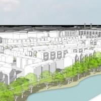 View of prospective Boots site on Nottingham Enterprise Zone