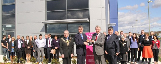 Fareham Innovation Centre opening